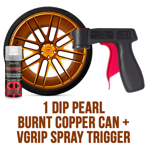 DYC Dip Pearl Burnt Copper Aerosol Spray Can w/ VGrip Spray Trigger