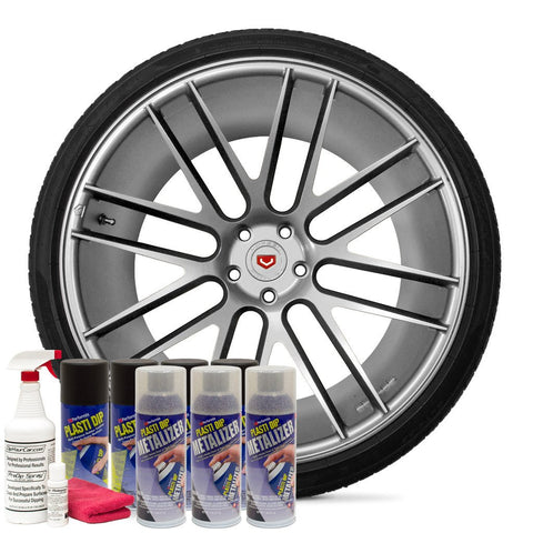BRIGHT ALUMINUM WHEEL KIT