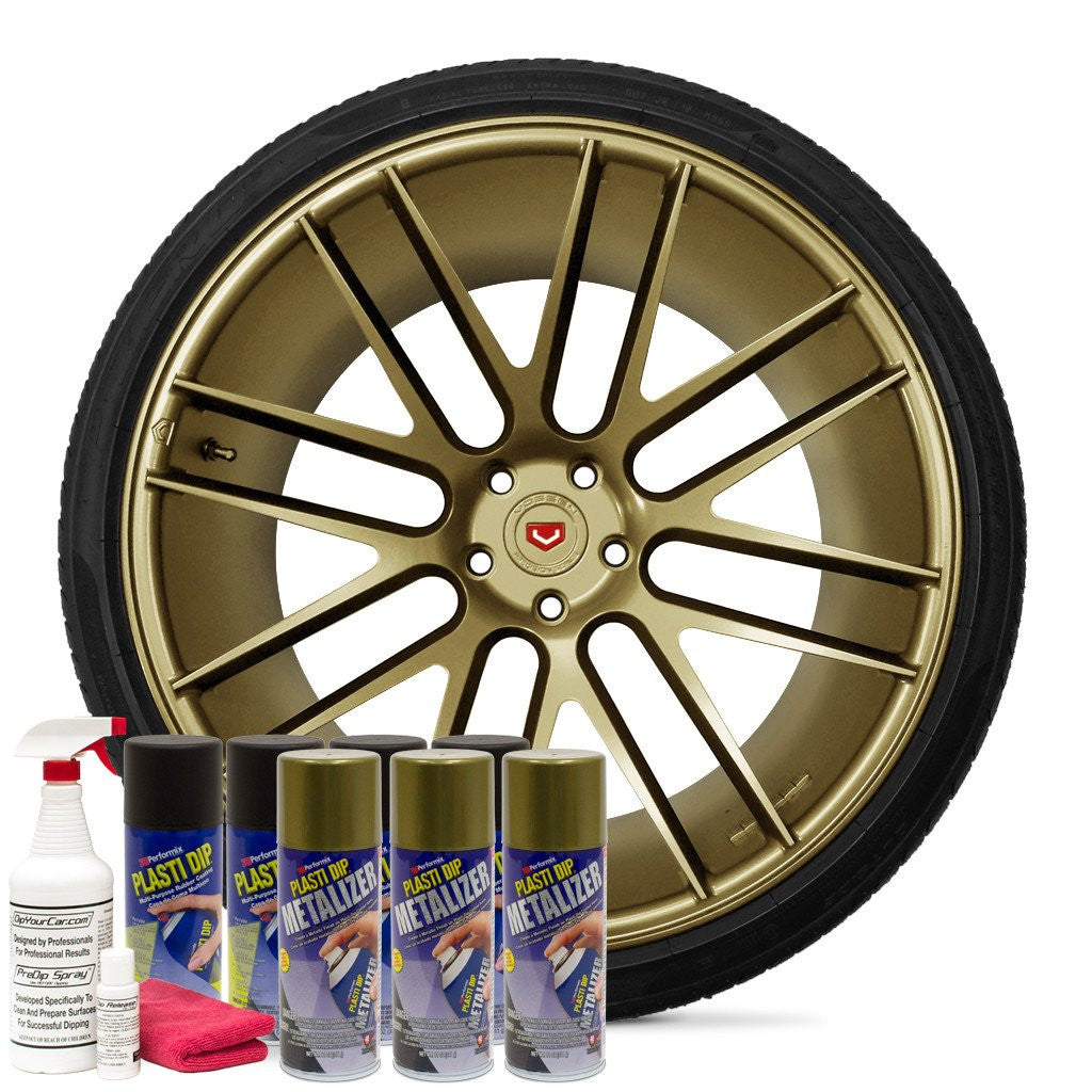 BRIGHT GOLD METALIZER WHEEL KIT