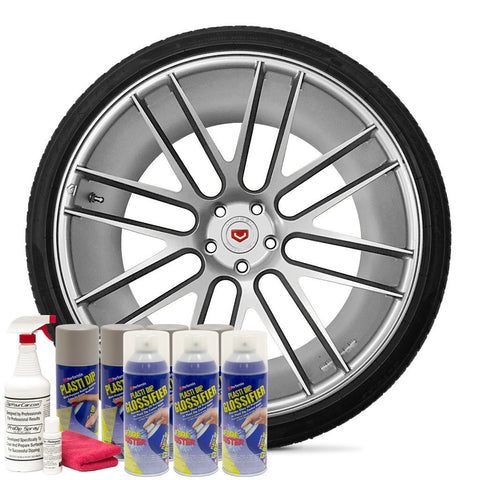 GLOSS ALUMINUM WHEEL KIT