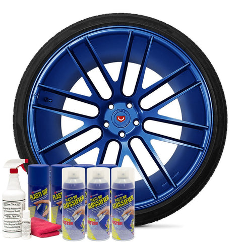 GLOSS FLEX BLUE WHEEL KIT