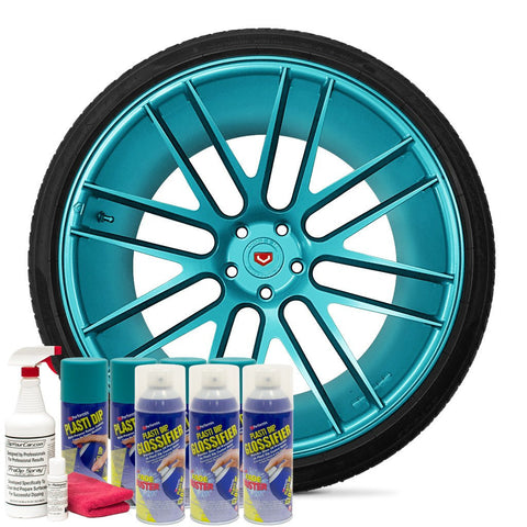 GLOSS INTENSE TEAL WHEEL KIT