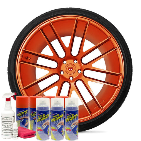 GLOSS KOI ORANGE WHEEL KIT