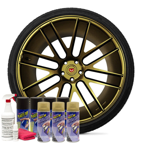 GOLD METALIZER WHEEL KIT