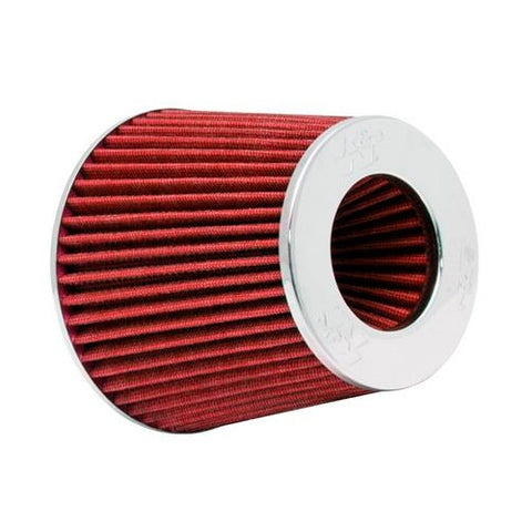 K&N Filters RG-1001RD Universal Chrome Round Tapered Air Filter
