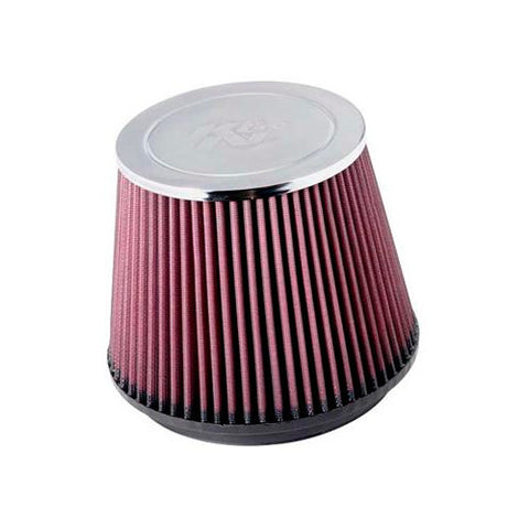K&N RC-5173 High Performance Universal Clamp-on Chrome Air Filter