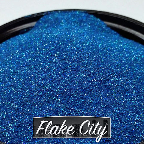Lake Blue Holographic Flakes 004