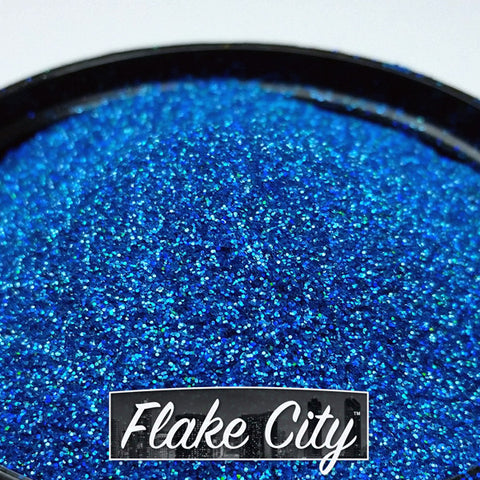 Lake Blue Holographic Flakes 008