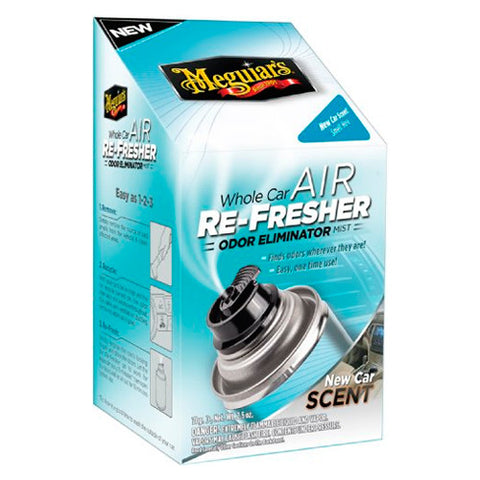 Meguiar's G16402 Whole Car Air Refresher Odor Eliminator (New Car Scent)