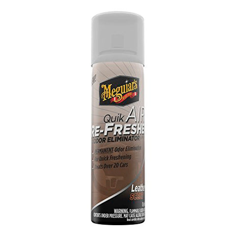 Meguiar's G19603 Quik Air Refresher Leather Scent