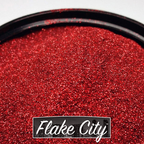 Red Holographic Flakes 004