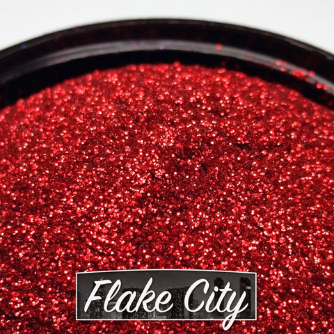 Rich Red Micro Flakes 008