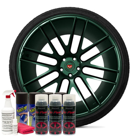 TAHITIAN GREEN WHEEL KIT
