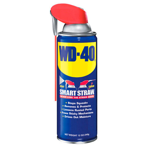 WD-40 490057 Multi-Use Lubricant Smart Straw Spray 12 oz.