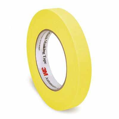 Yellow 3M Automotive Masking Tape