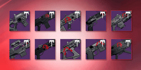 Wrath of the Machine Raid Weapons!