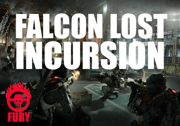 Falcon Lost Incursion x4 Challenging Bundle [Division PS4]