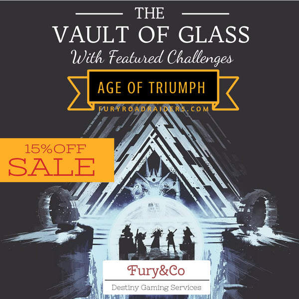 Age of Triumph Destiny Year 3 - Heroic Vault of Glass VoG FULL Raid (Atheon) w/ Featured Challenge [Destiny PS4]