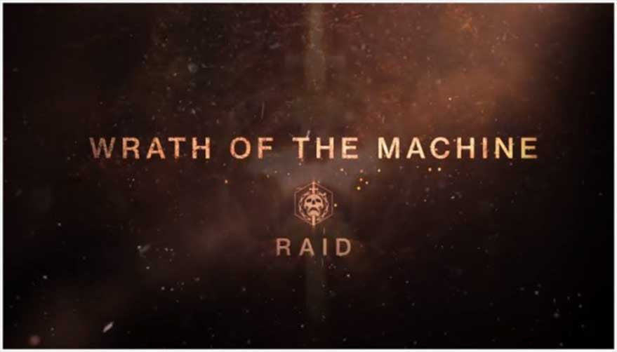 Wrath of the Machine Raid - Normal [Destiny PS4]