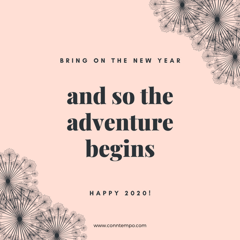 2020:  Here's to New Adventures!