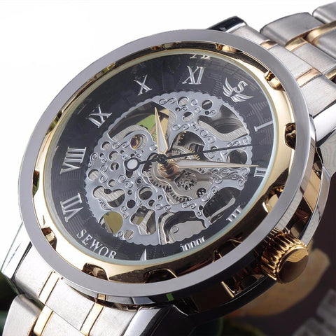 Skeleton Mechanical Watch - orderinbox