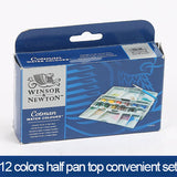 12/16/24/45 Colors Half Pans Watercolor Pigment-orderinbox