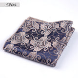 Men's Pocket Print formal wedding Accessories-orderinbox