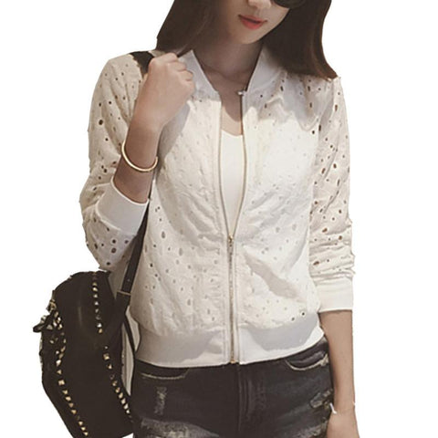 Summer New Casual Slime Women Thin Jacket - orderinbox