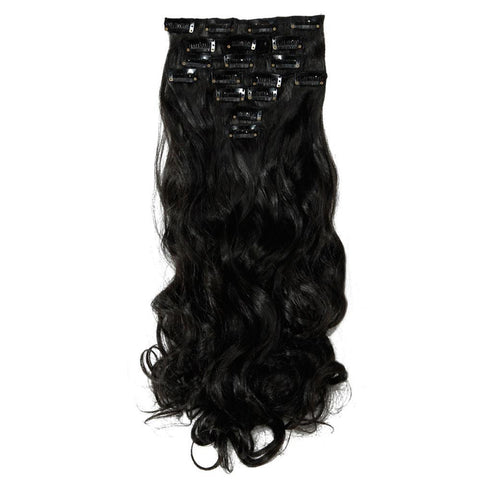 8 Pieces/Set Full Head Clip in Hair Extensions-orderinbox