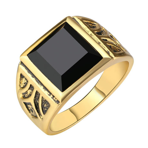 Gold Color Ring-orderinbox