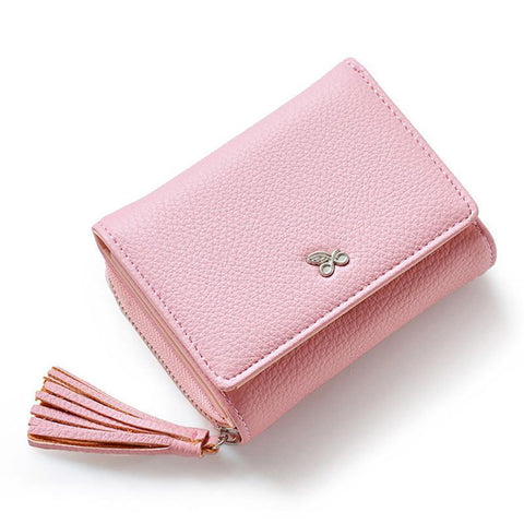 Zipper&Hasp Women Wallet For Coin Card Cash-orderinbox