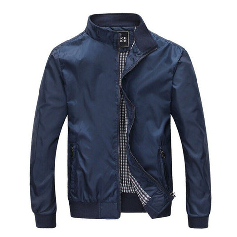 Men Casual Thin Thick Jacket-orderinbox