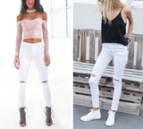 Stylish Ripped Jean - orderinbox