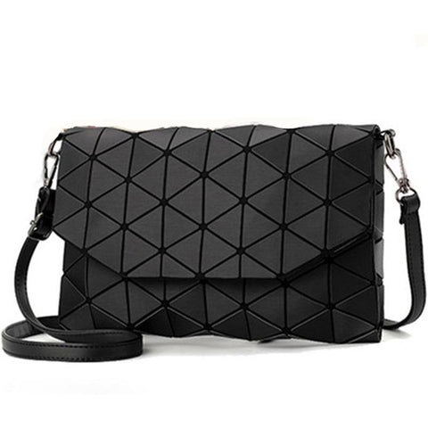 Plaid geometric envelope handbag-orderinbox