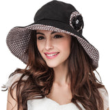Retro Large Brim Fordable Summer Hat-orderinbox