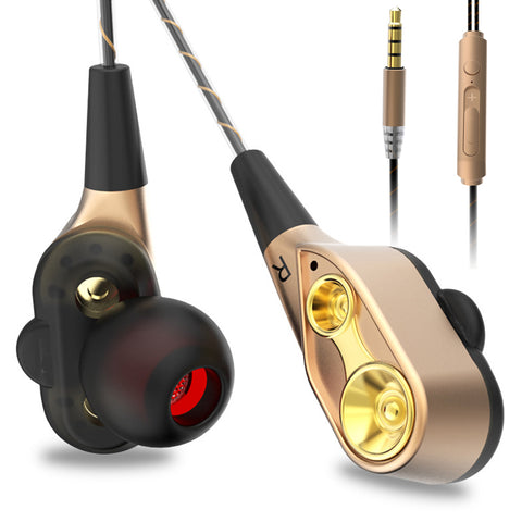 Subwoofer Stereo Earphones With Microphone-orderinbox
