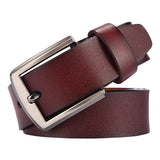 Leather Strap Luxury Pin Buckle Casual Men's Belt-orderinbox