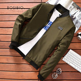 Thin Slim Fit Bomber Jacket-orderinbox