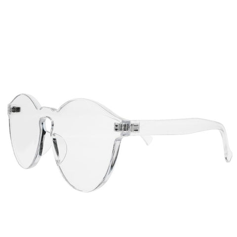 Rimless Transparent Shades Sun Glasses-orderinbox