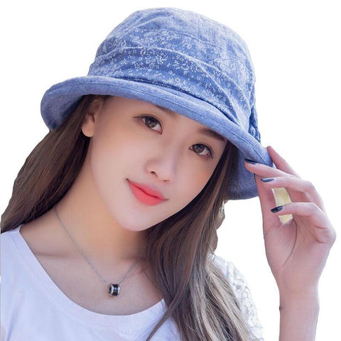Summer Beach Bucket Sun Hat-orderinbox