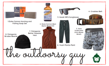 Gift Guide 2020 | Outdoorsy Guy - Grivet Outdoors