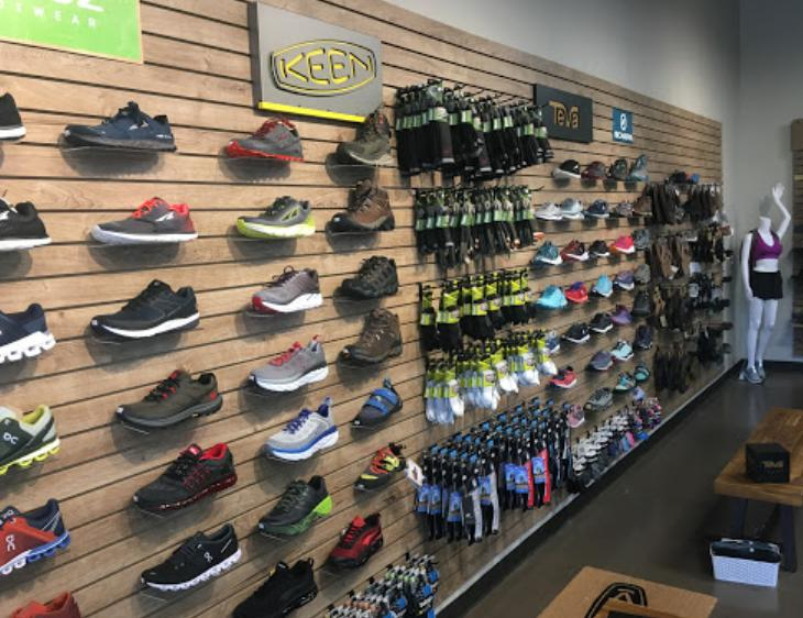 Grivet Outdoors Olive Branch On Running Hoka One One Shoe Wall