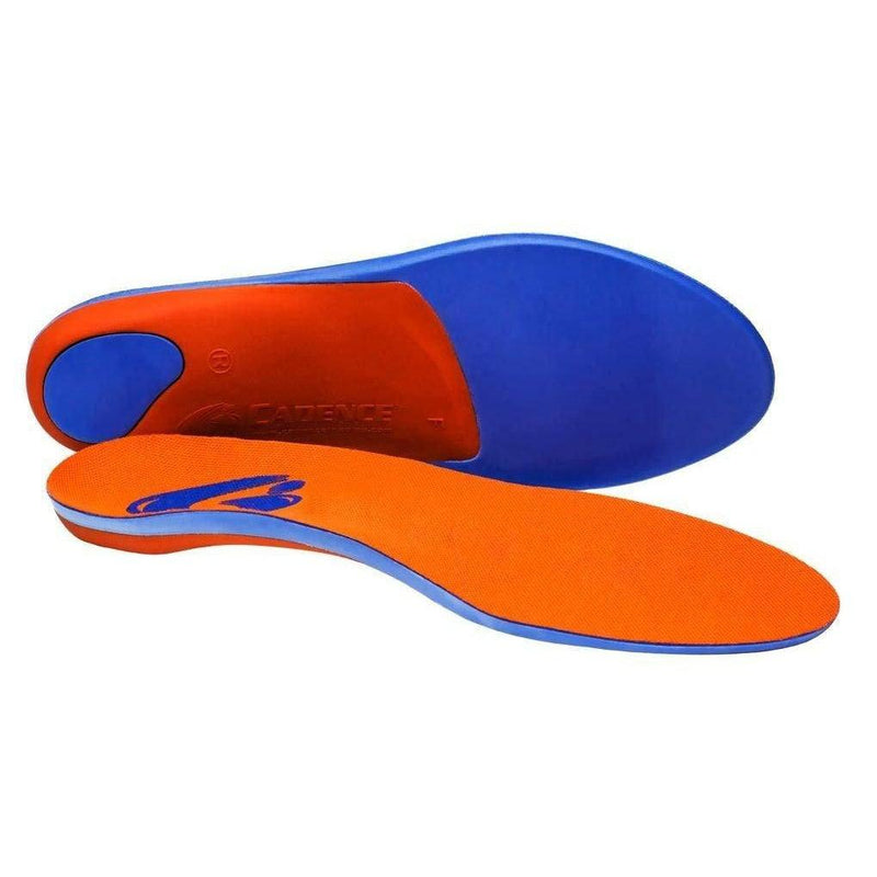 Cadence Insoles Orthotic Shoe Insoles - (C) MEN 5-6 WOMEN 6-7