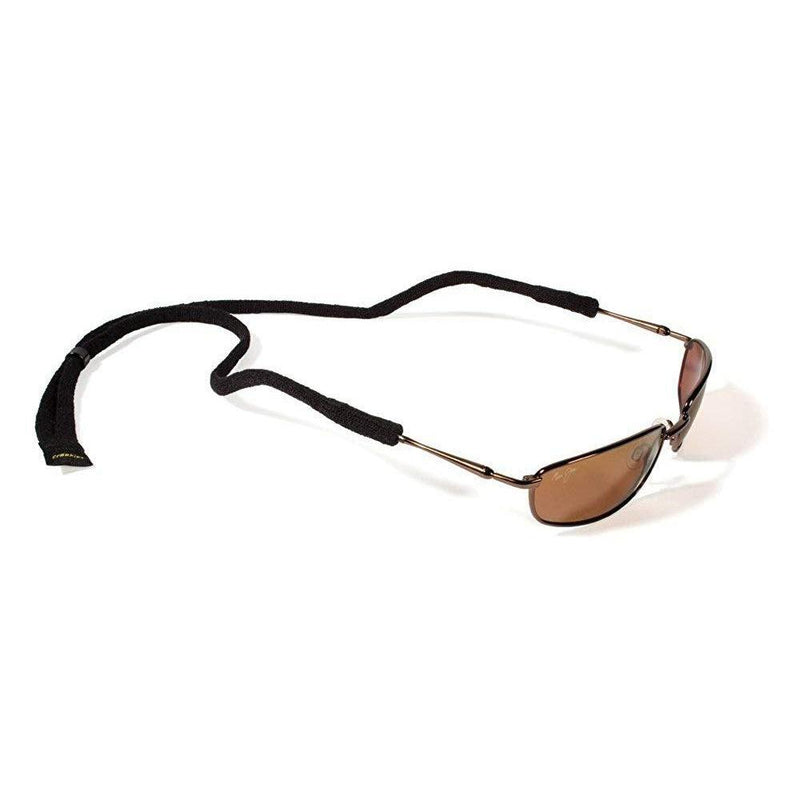 Croakies Micro Suiters Eyewear Retainer - Black / 1 Pack Micro