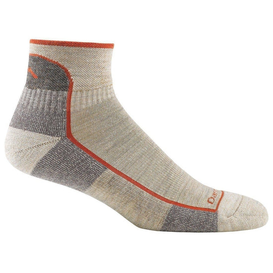 Darn Tough Vermont Men's 1/4 Merino Wool Cushion Hiking Socks - Grivet Outdoors