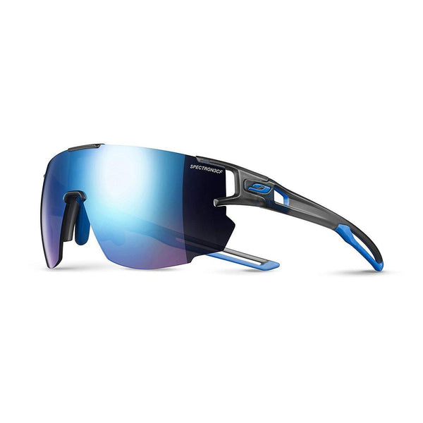 Julbo Aerospeed Sunglasses - Translucent Gray/Blue/Blue