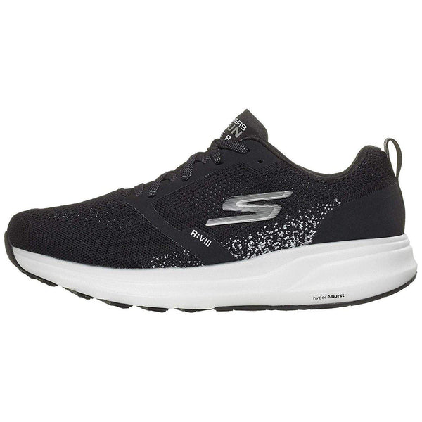 Skechers Men's Go Run Ride 8 Hyper - Black/White / 13