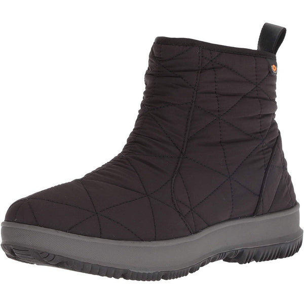 Bogs Womens Snowday Lo Snow Boot - Black / 10