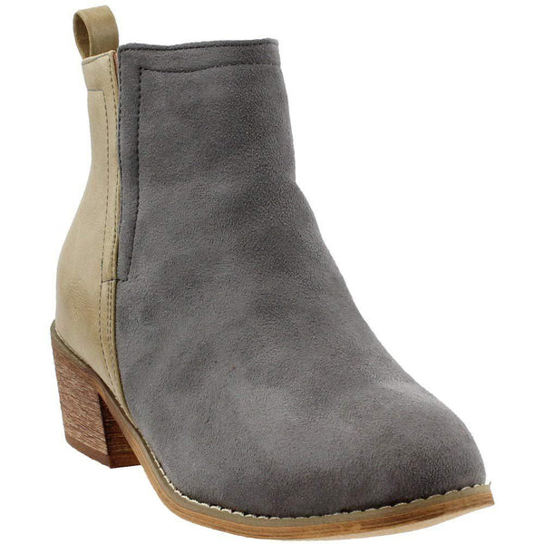 Corkys Shield Women's Boot - Taupe/Grey / 6