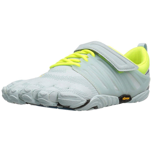 Vibram Women's V-Train Cross-Trainer Shoe - Pale Blue/Safety Yellow / 6.5